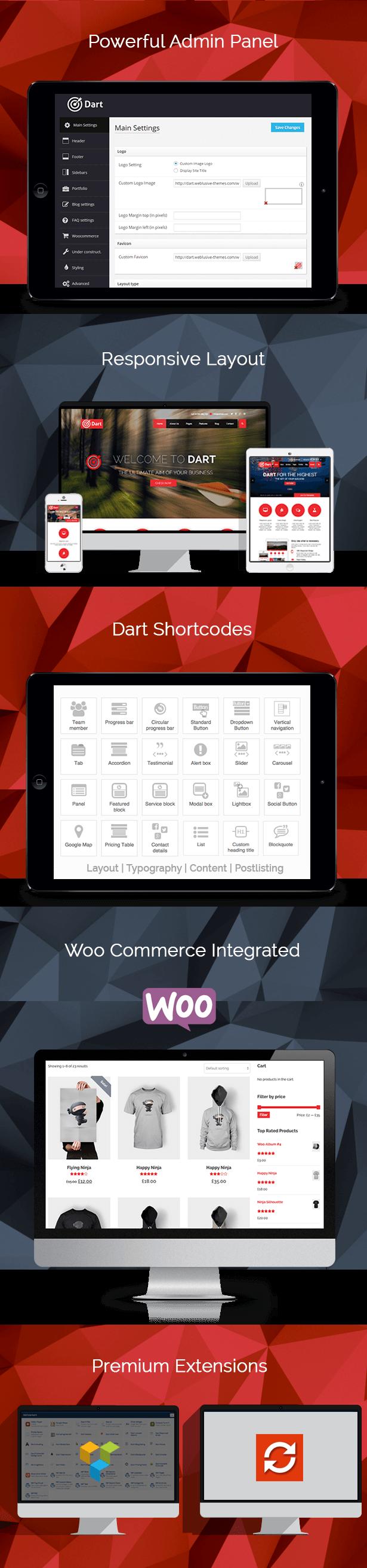 Dart Features